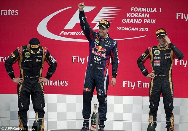 Sebastian Vettel won the last South Korean Grand Prix held in 2013 - while at Red Bull