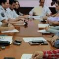 La VI reunión de trabajo fue realizada por las autoridades.