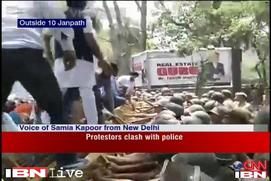 1984 anti-Sikh riots: Protesters clash with police