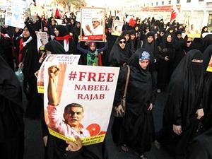 Hàng nghìn người biểu tình chống chính phủ Bahrain