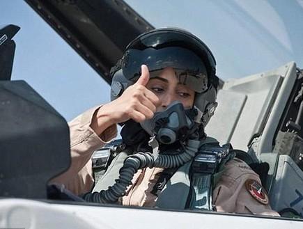 טייסת מוסלמית שנלחמת נגד דאעש