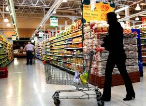 Supermercados, precios congelados.
