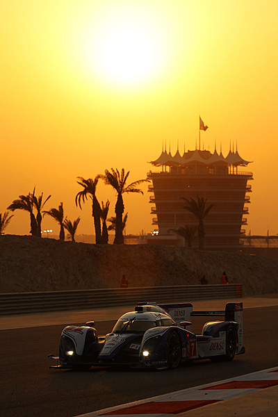 The #7 Toyota TS030 was the fastest car on the track but it retired 80 minutes from the finish. (Toyota Motorsports)