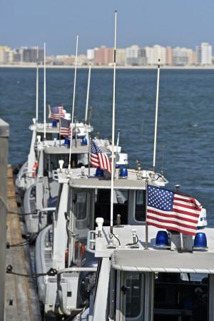 Patrullbtar som tillhr den 7:e flottan som har en bas i Manama i Bahrain