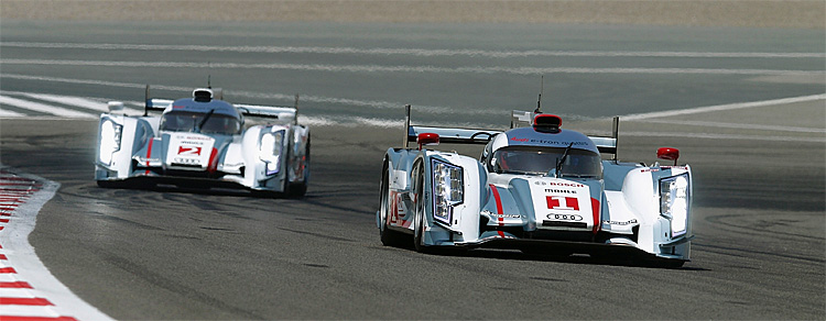 Audi scored a 12 finish at the WEC Six Hours of Bahrain. (Audi Motorsports)